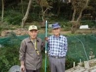 右から代表の鈴木稔明さん、山田知(さとる)さん