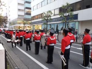 県立静岡商業高等学校のマーチンバンド