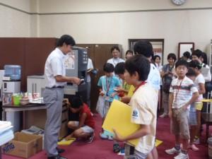 ふれあい親子県議会教室