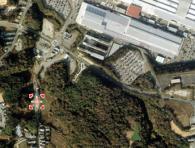 場所・北にあるのはスズキ湖西工場
