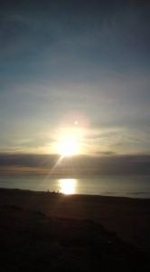 白須賀海岸より初日の出