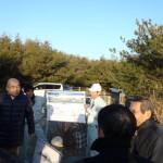 浜松市沿岸域の防潮堤等整備予定箇所の状況確認
